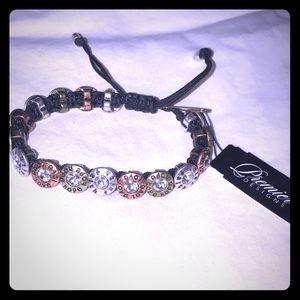 Premier Designs Sentiments adjustable bracelet